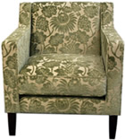 Upholstered Chelsea chair
